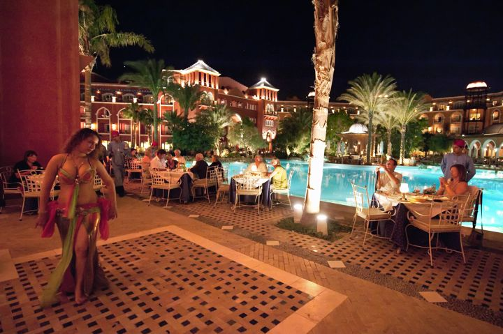 The Grand Resort - belly dancing