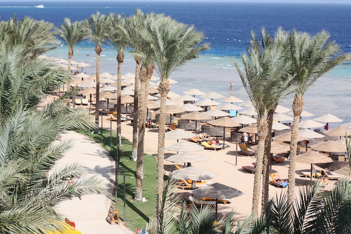 Sunwing Waterworld Makadi: beach