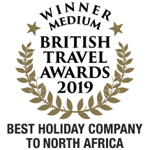 Winner: British Travel Awards 2019